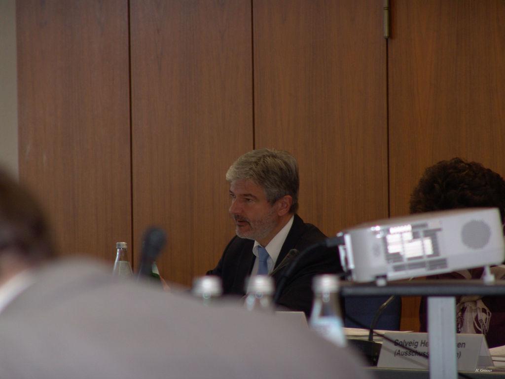 Innenminister Holzschuher