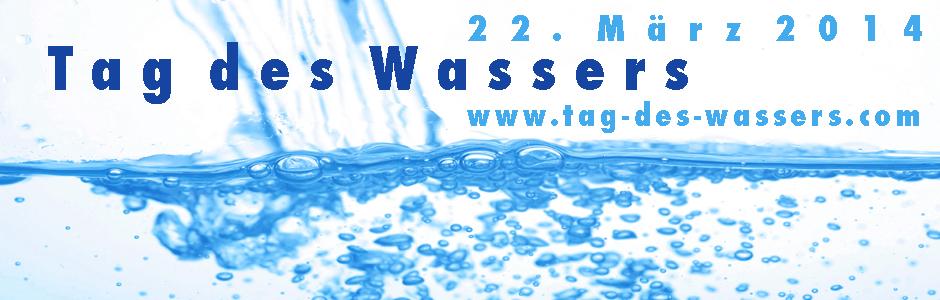 BannerTag des Wassers 2014 mit www